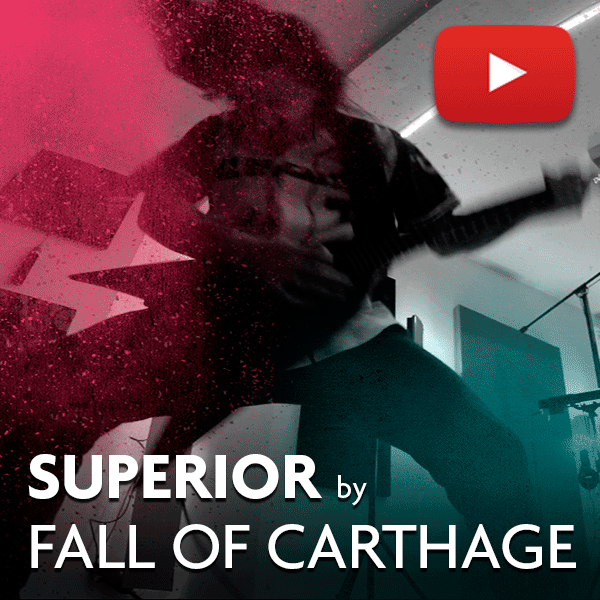 FALL OF CARTHAGE - Superior (official video)